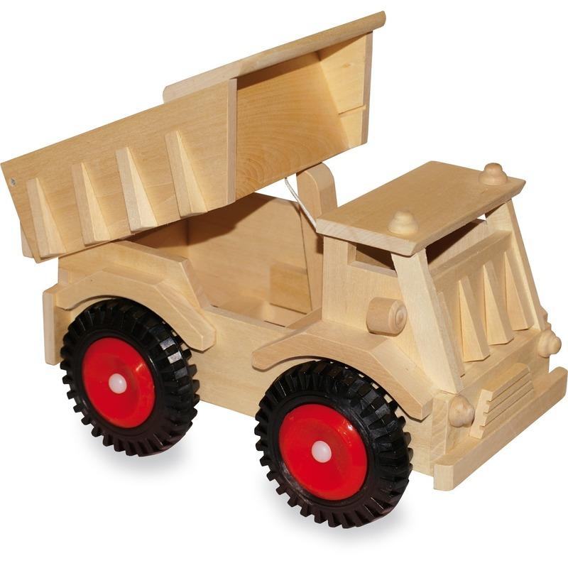 Geboorte-Feestwinkel, Houten speelgoed kiepwagen