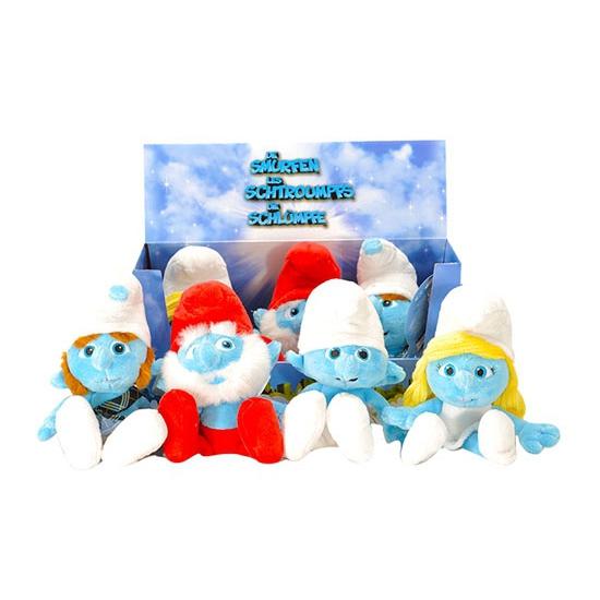Pluche Smurfen Grappen Smurf 20 Cm Geboorte feestwinkel kopen