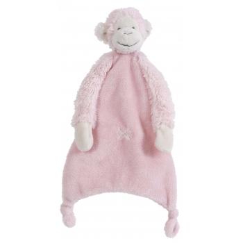 Geboorte-Feestwinkel, Apen tutteldoekje Happy Horse roze