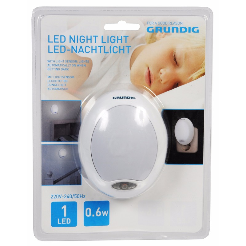 Babykamer nachtlampjes wit LED