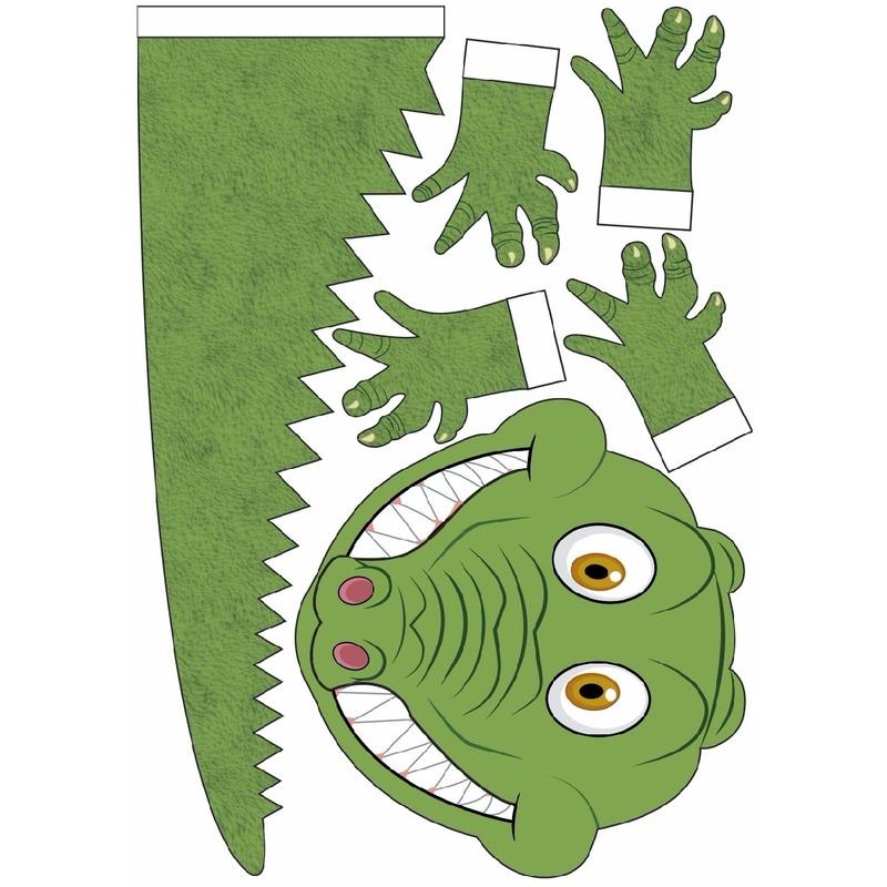 Sinterklaas Krokodil Suprise Bouwpakket Geboorte Versiering En
