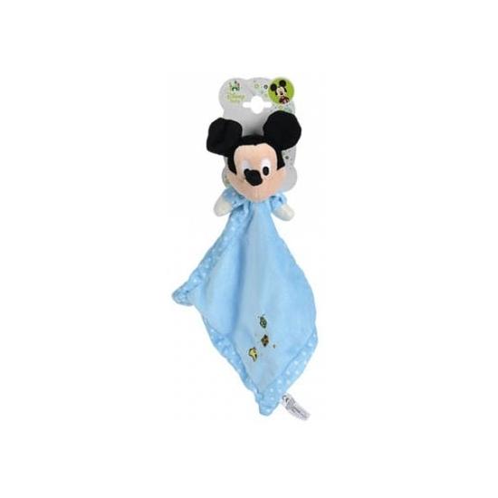 Geboorte-Feestwinkel, Blauw Mickey Mouse knuffeldoekje