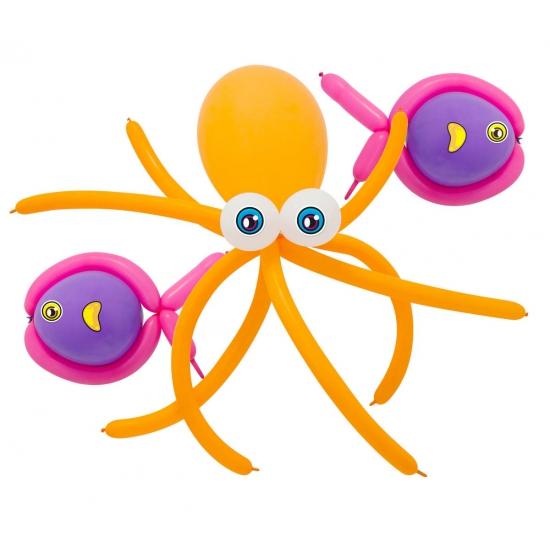 Doe het zelf ballon set zeedieren