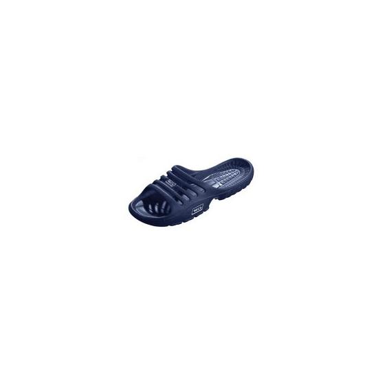 Donkerblauwe zwembad sandalen voor dames
