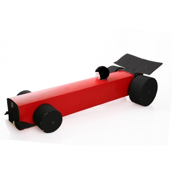 Sinterklaas Formule 1 Auto Suprise Bouwpakket Geboorte Versiering