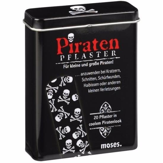Geboorte-Feestwinkel, Grappige piraat pleisters 20 stuks
