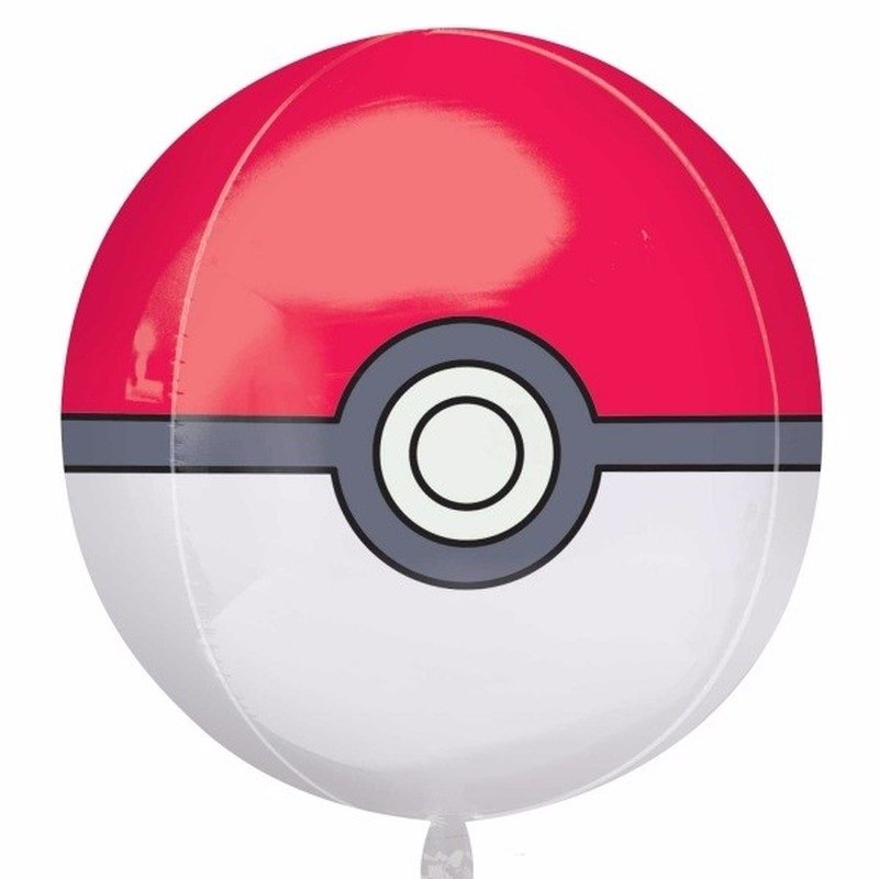 Helium ballon Pokeball 40 cm