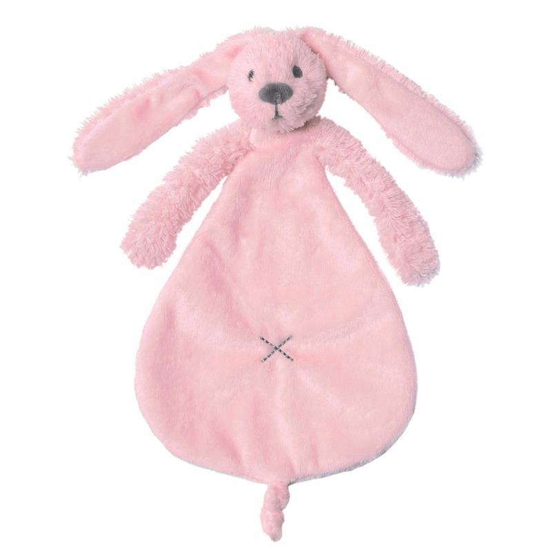 Geboorte-Feestwinkel, Konijn tutteltje 25 cm roze
