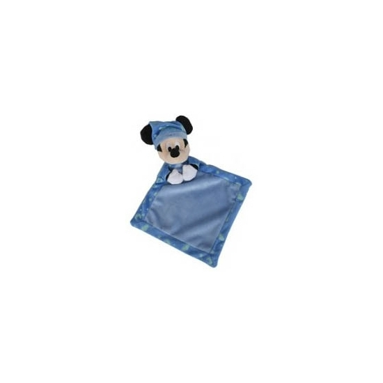 Geboorte-Feestwinkel, Mickey Mouse knuffeldoekje blauw