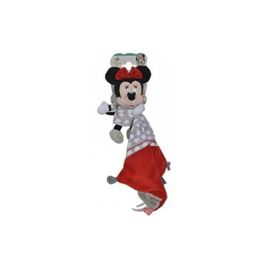 Geboorte-Feestwinkel, Minnie Mouse knuffeldoekje rood