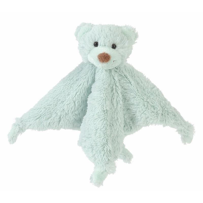 Geboorte-Feestwinkel, Mintgroene beren tuttels van Happy Horse 20 cm