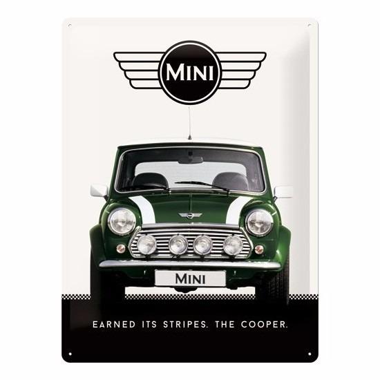 Geboorte-Feestwinkel, Muurplaatje Mini Cooper