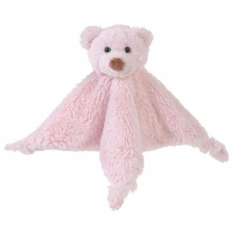 Geboorte-Feestwinkel, Roze beren tuttels van Happy Horse 20 cm