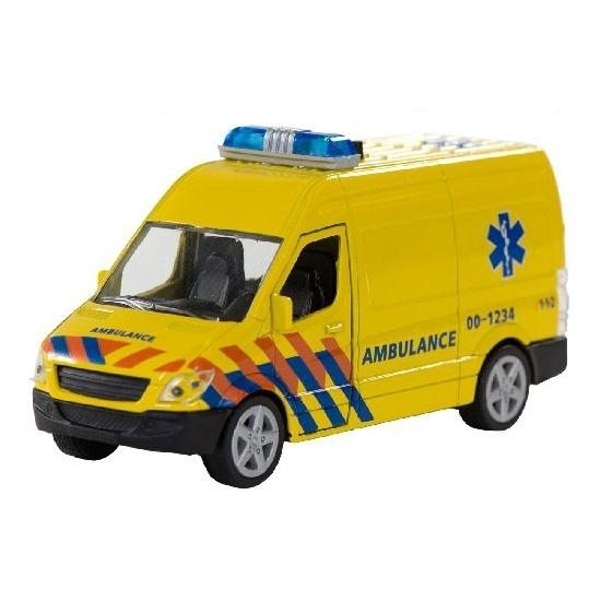 Schaalmodel ambulance Nederland