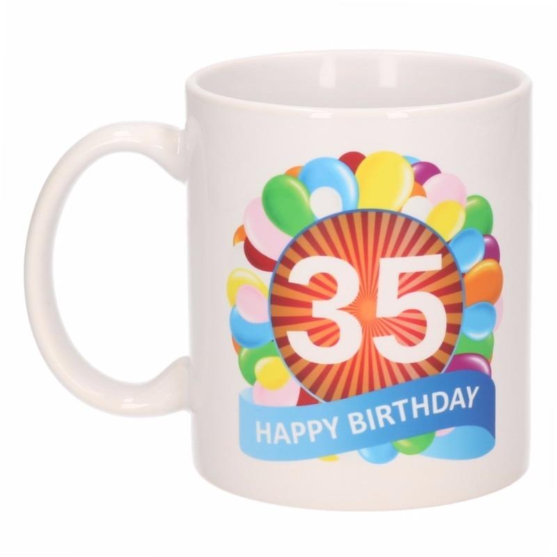 35e Verjaardag Cadeau Beker Mok 300 Ml Geboorte Versiering En