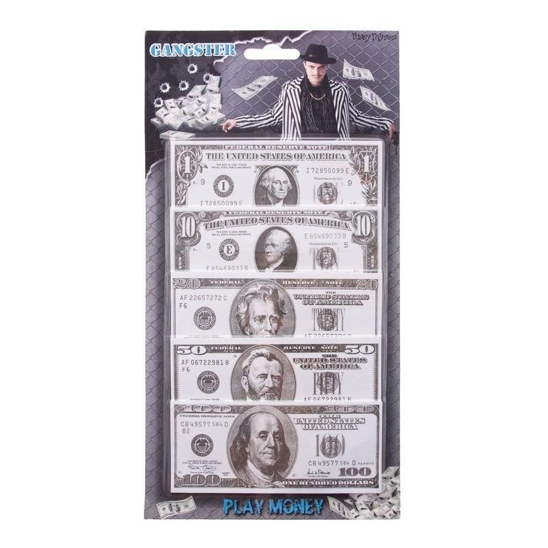 100x Speelgoed dollar briefgeld
