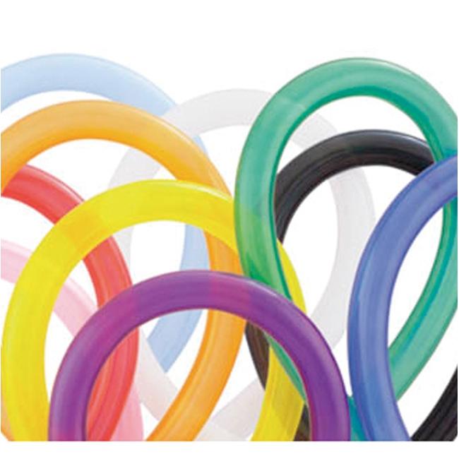 100x stuks gekleurde modelleerballonnen 28 cm