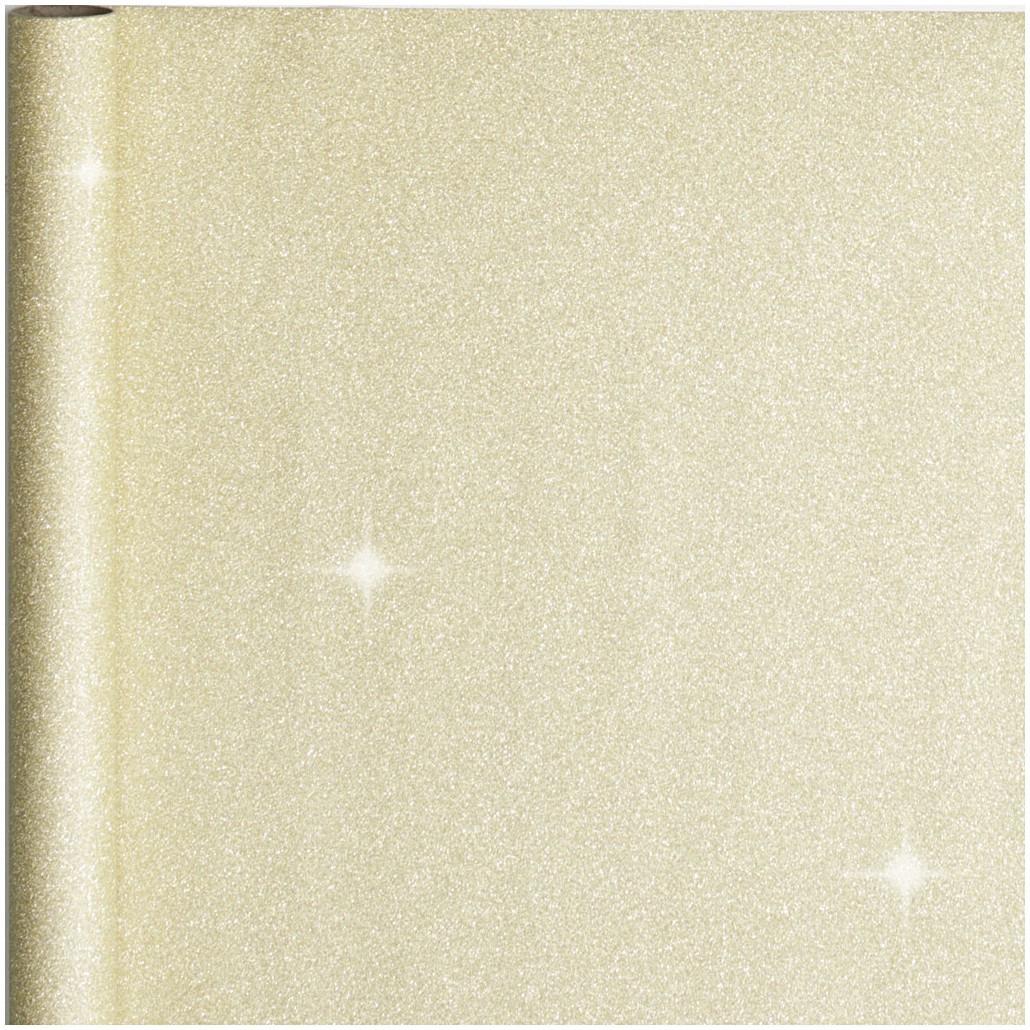10x stuks cadeaupapier/inpakpapier goud met glitters 300 x 50 cm