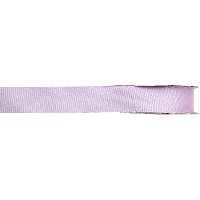 1x Hobby/decoratie lila satijnen sierlinten 1 cm/10 mm x 25 meter