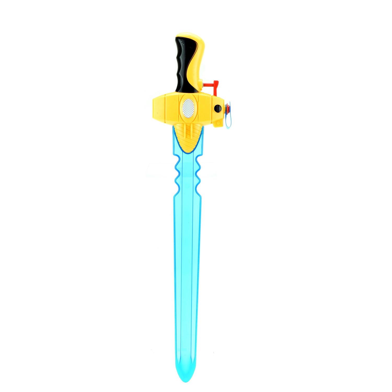 1x Waterpistolen/waterpistool zwaard geel van 50 cm kinderspeelgoed