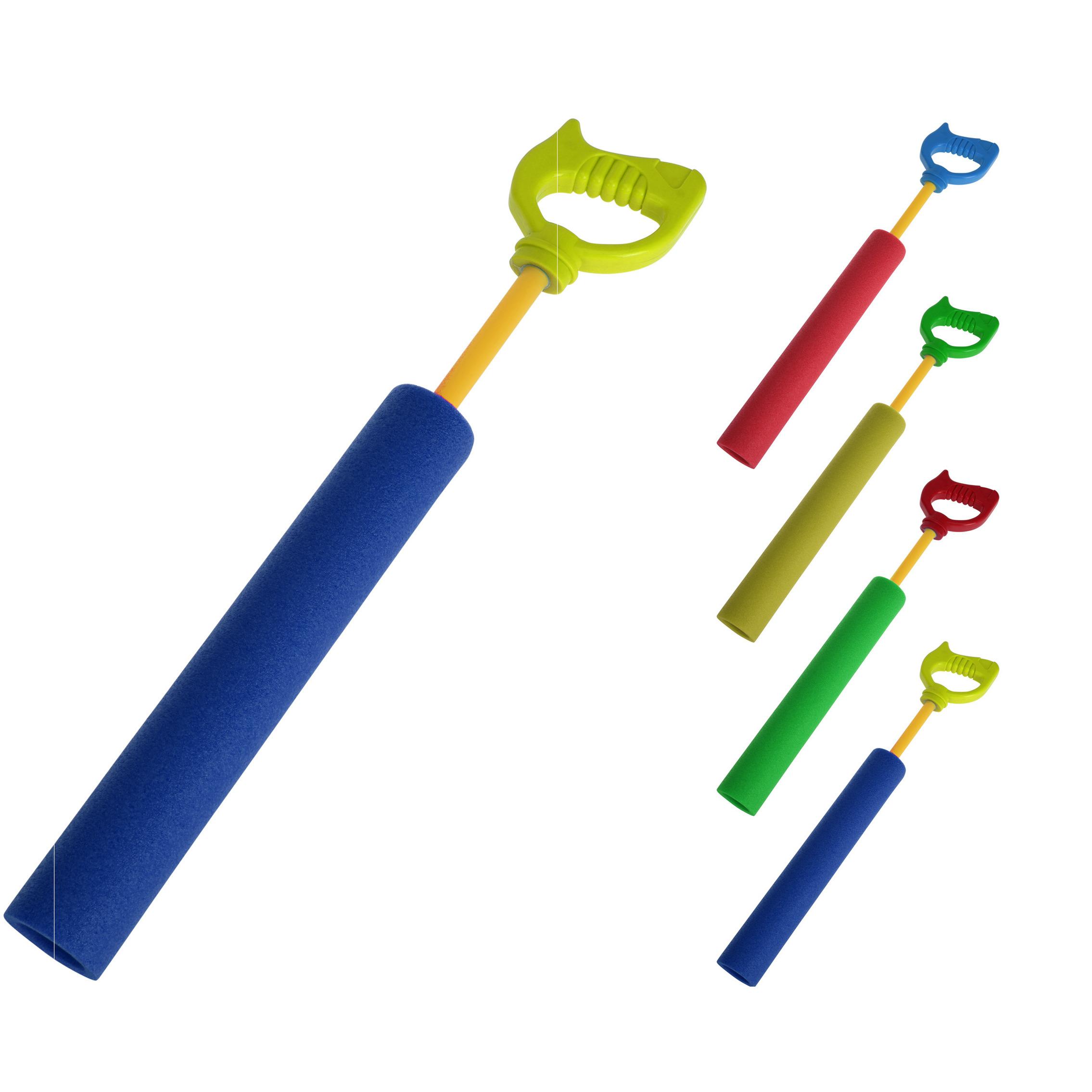 1x Waterpistool van foam met handvat 40 cm