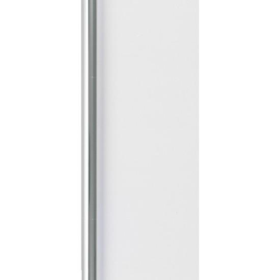 2x Inpakpapier/cadeaupapier transparante folie rol 400 x 70 cm
