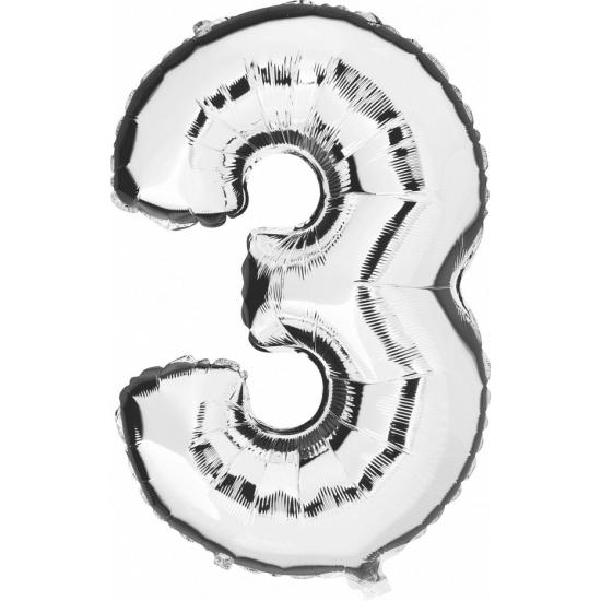 3 jaar versiering cijfer ballon