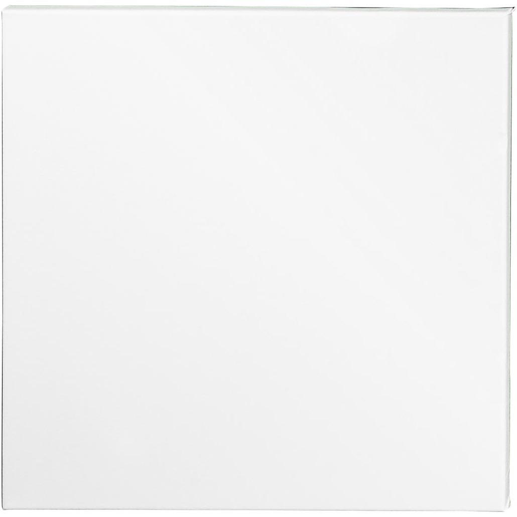 4x stuks schildersdoek 40 x 40 cm voor hobby verven/schilderen