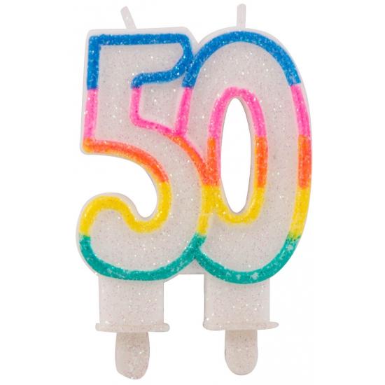 50 feest kaars