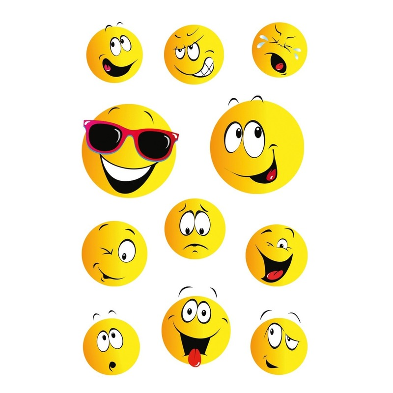 99x Smiley/emoticon stickers