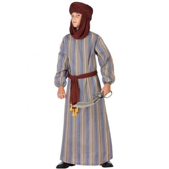 Arabische strijder Ali verkleed kostuum/gewaad voor jongens