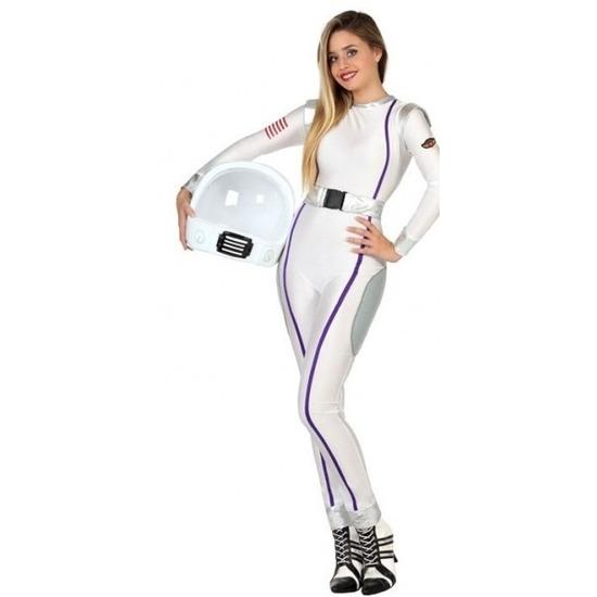 Astronauten verkleed kostuum/jumpsuit voor dames