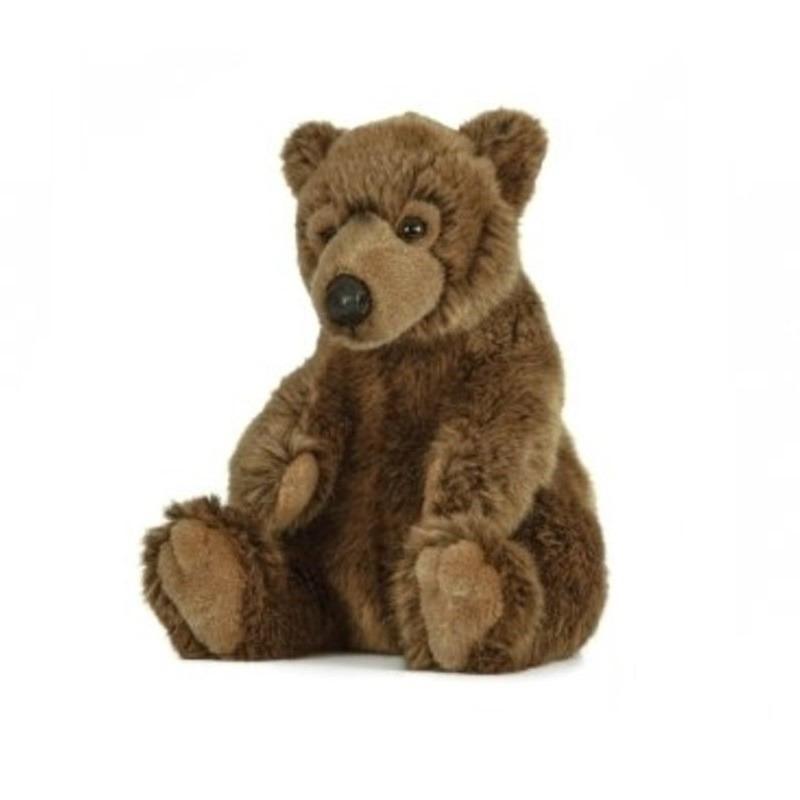 Beren speelgoed artikelen beer knuffelbeest bruin 25 cm