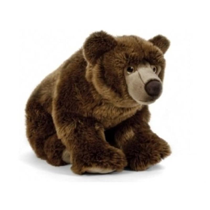 Beren speelgoed artikelen beer knuffelbeest bruin 45 cm