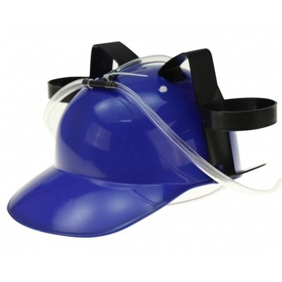 Bierfeest helmen blauw