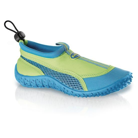 Blauw/groene waterschoenen voor kinderen