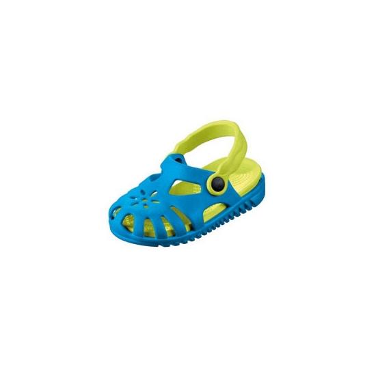Blauwe camping schoentjes met verwijderbare zool