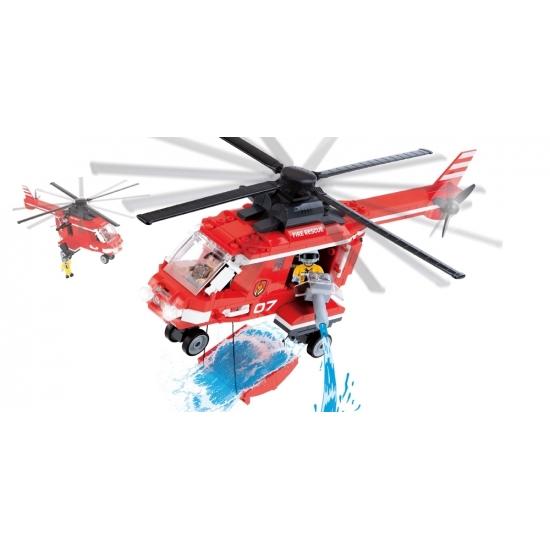 Brandweer speelgoed helikopter
