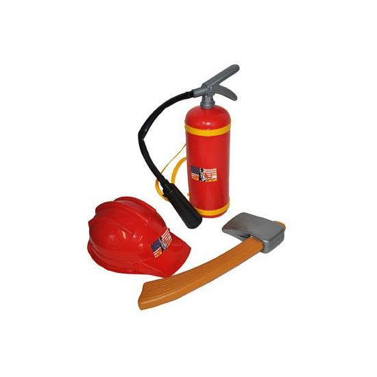 Brandweer speelgoed verkleed setje voor kinderen