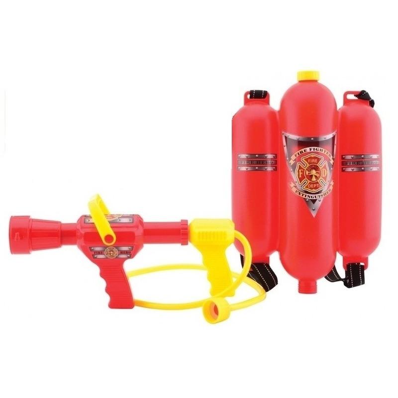 Brandweer waterpistool brandblusser rugzak met spuit
