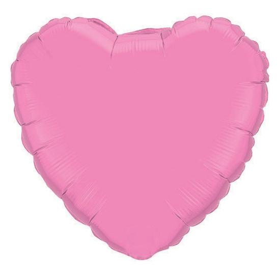 Bruiloft roze hartjes folie ballon 45 cm