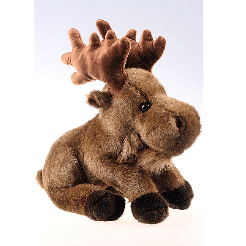 Bruine elanden knuffels 35 cm