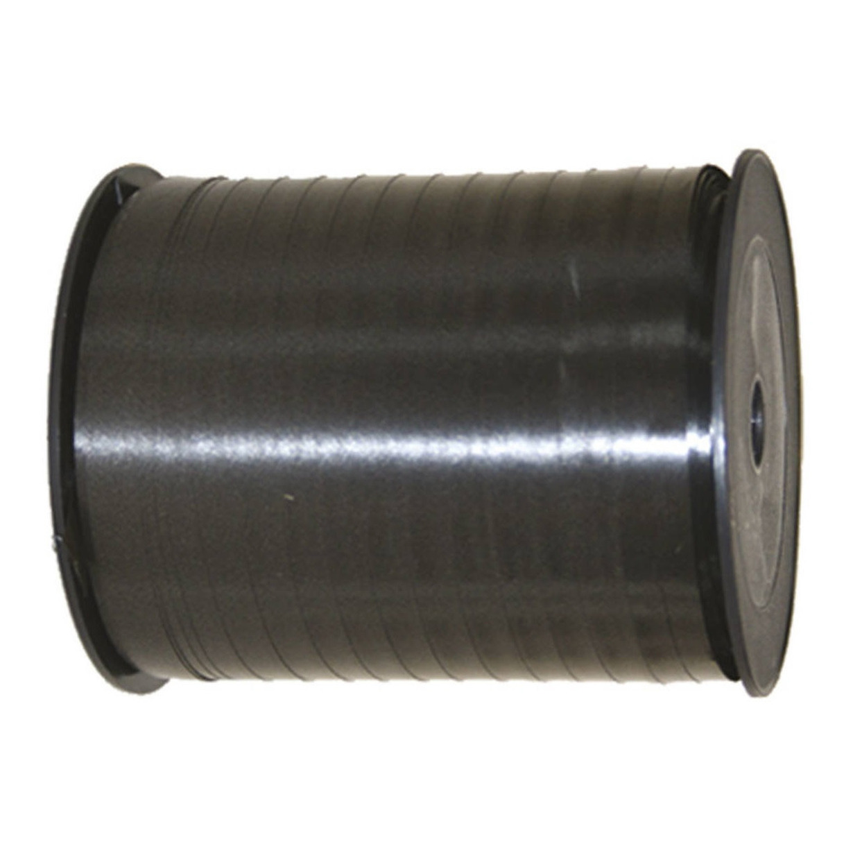 Cadeaulint/sierlint in de kleur zwart 5 mm x 500 meter