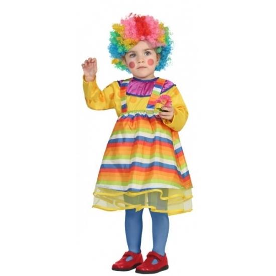 Carnaval clowns kostuum peuters
