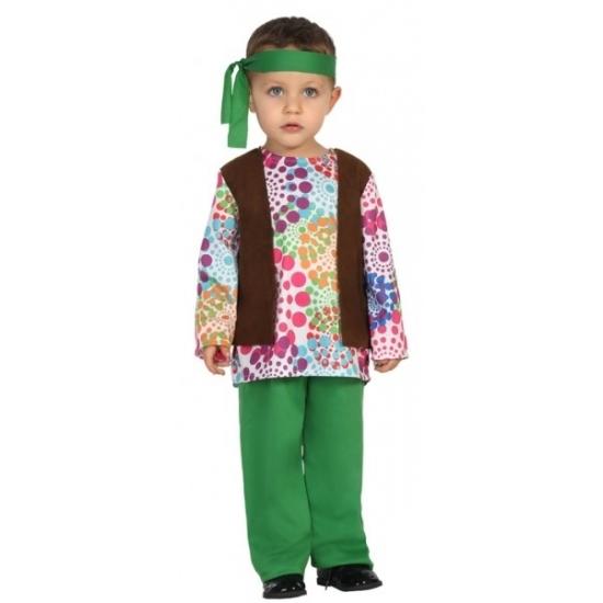 Carnaval hippies kostuum peuters