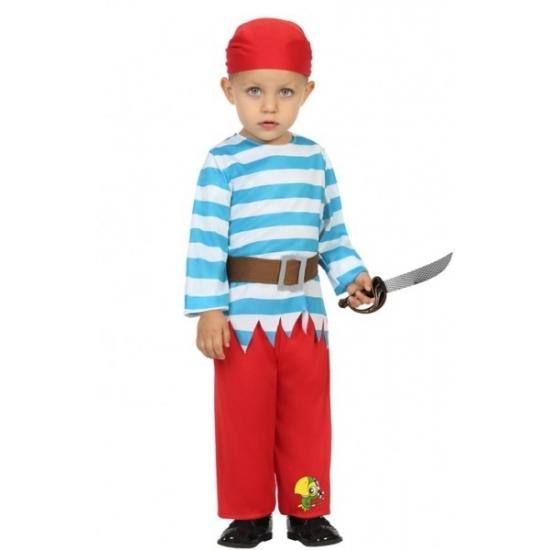 Carnaval piraten kostuum peuters