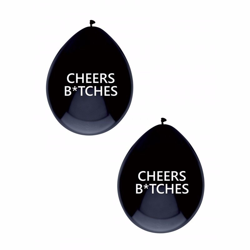 Cheers Bitches ballonnen 5x stuks