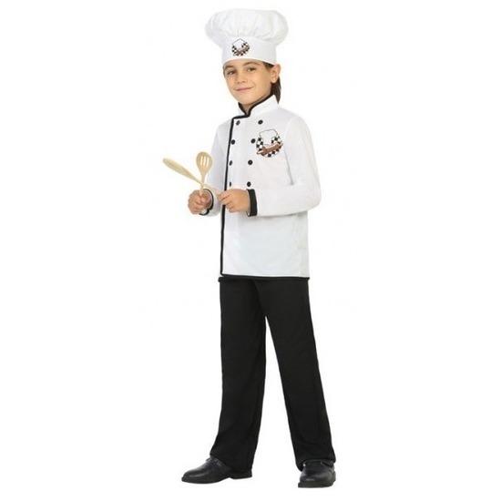 Chef kok verkleed kostuum voor jongens