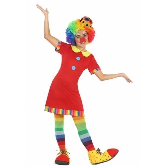 Clown Floppy kostuum voor meisjes