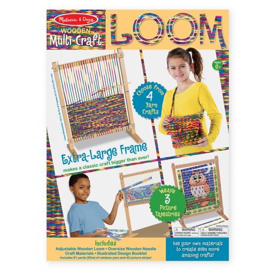 Creatief speelgoed voor kinderen weefgetouw